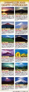 えんぎ屋 金運富士十二景カレンダー 2015年